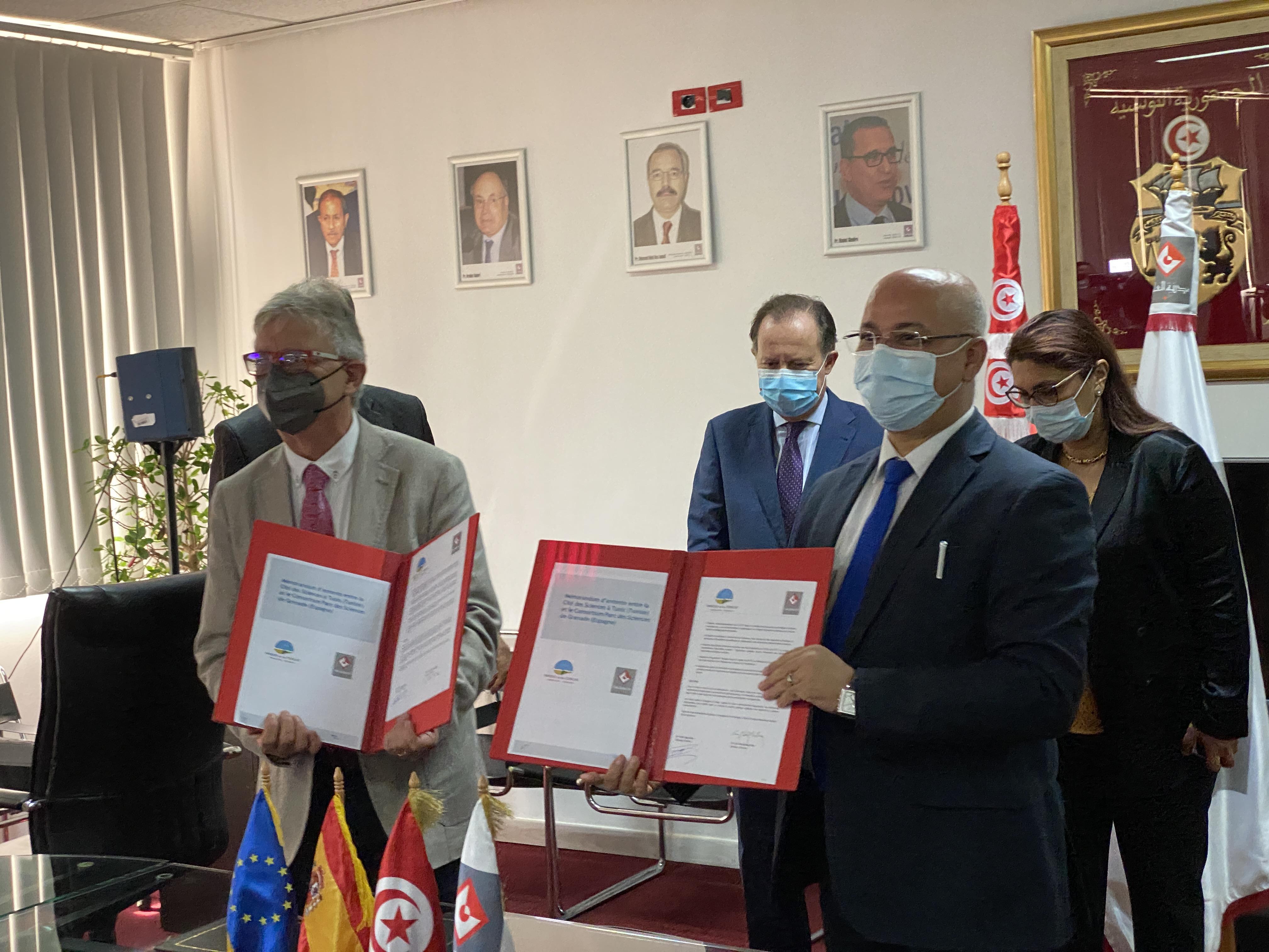 El museo de ciencias de Túnez y el Parque de las Ciencias de Granada se «hermanan»
