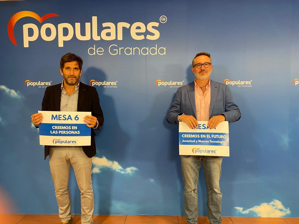 El PP de Granada iniciará el próximo sábado el curso político con el protagonismo de las bases en unas jornadas de trabajo