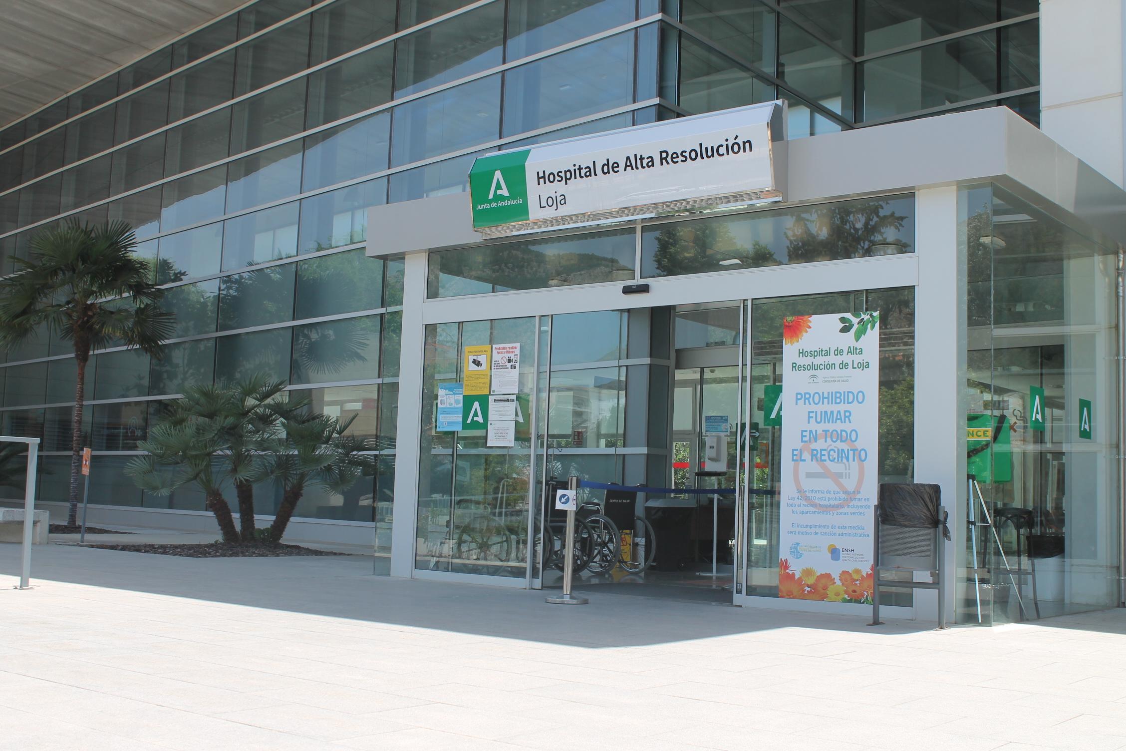El Hospital de Alta Resolución de Loja atiende más de 15.000 consultas y 16.000 urgencias en el primer semestre de 2021
