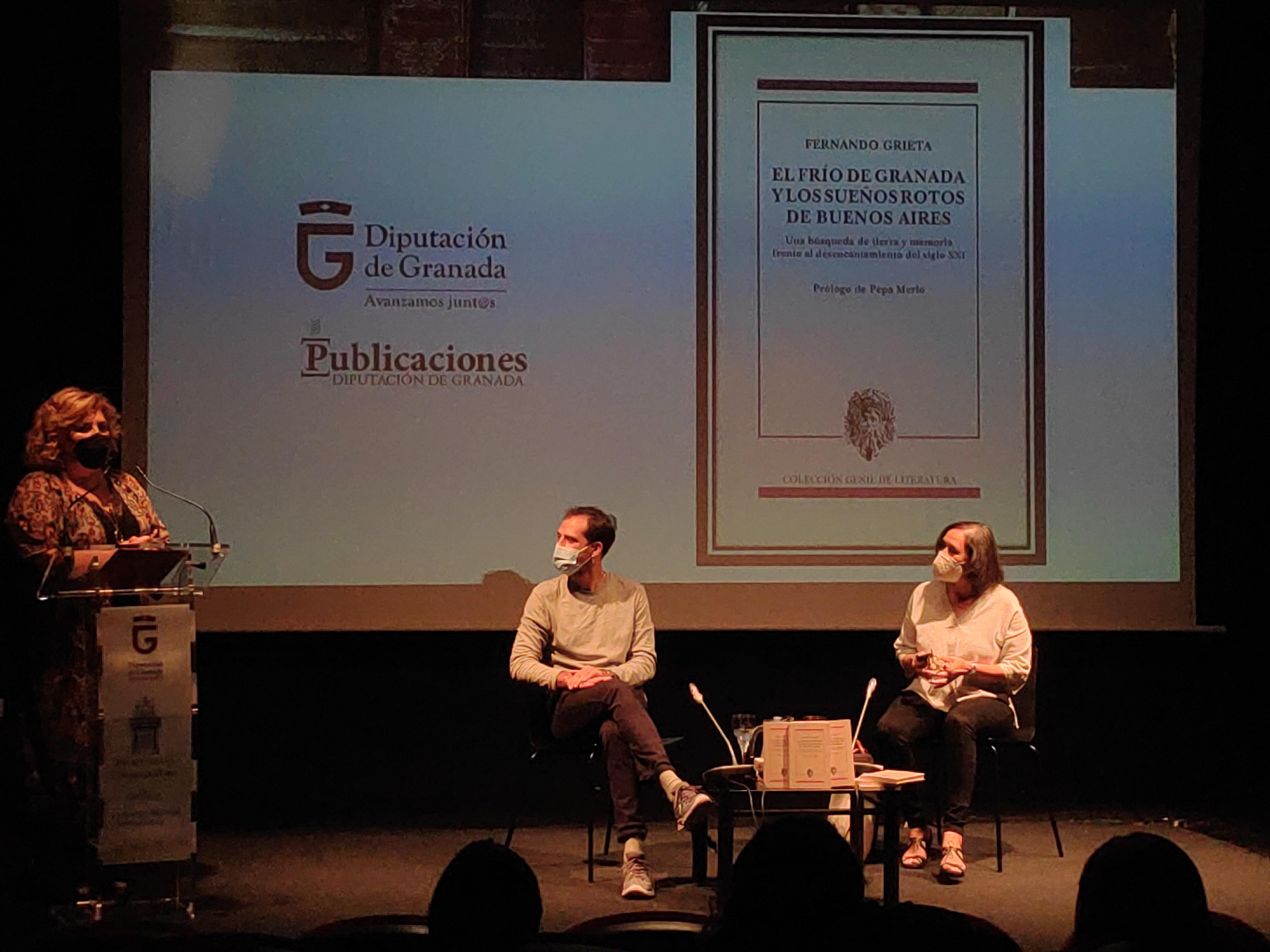 """Fernando Grieta presenta su libro """"El Frío de Granada y los Sueños Rotos de Buenos Aires"""""""