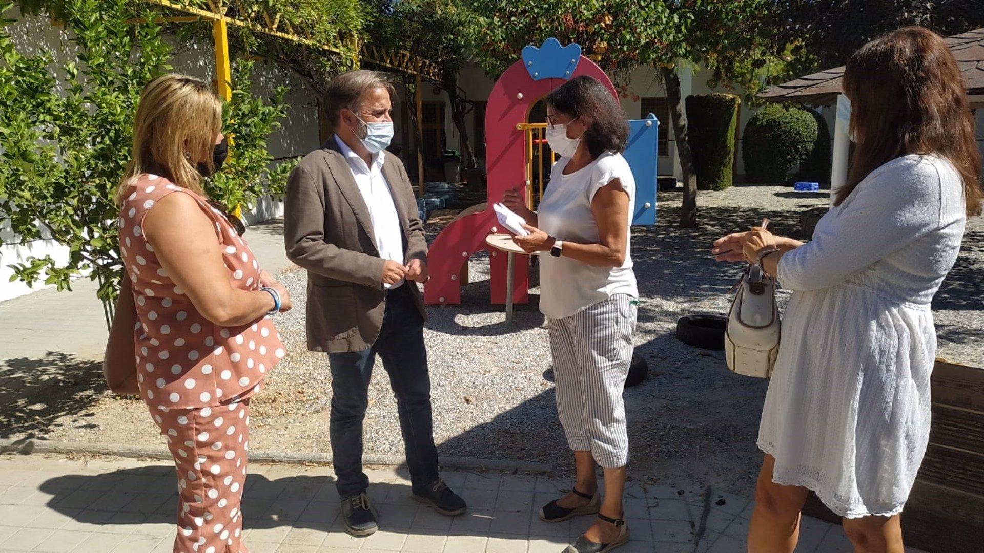 Abren las escuelas infantiles Granada Educa con 446 niños y 89 nuevas matrículas