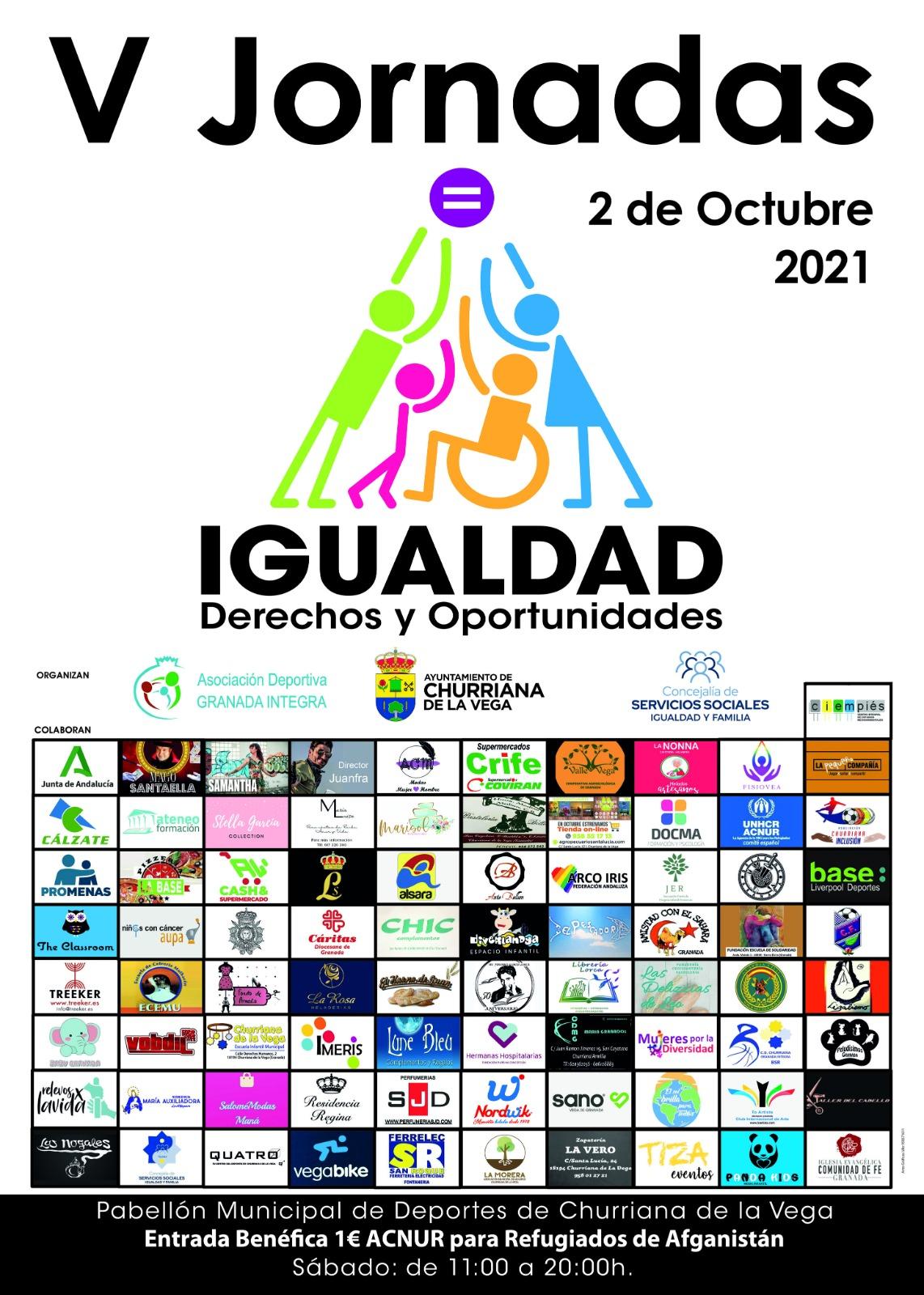 Churriana celebra sus quintas jornadas de Igualdad con la participación de numerosas asociaciones y colectivos