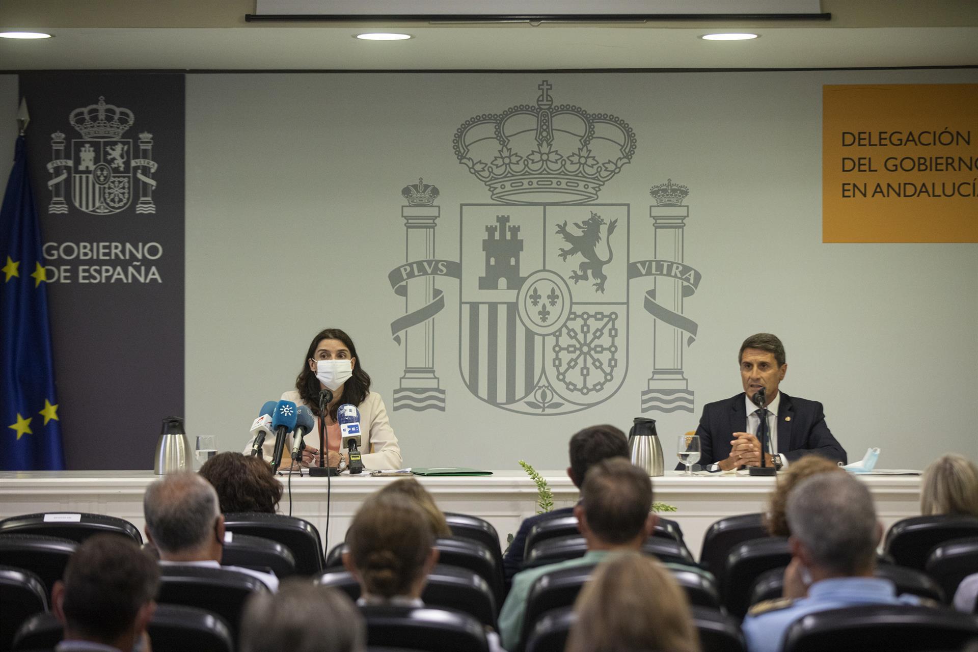 Delegado del Gobierno urge a Junta a «ponerse a trabajar para no perder ni un euro destinado a empresarios y autónomos»
