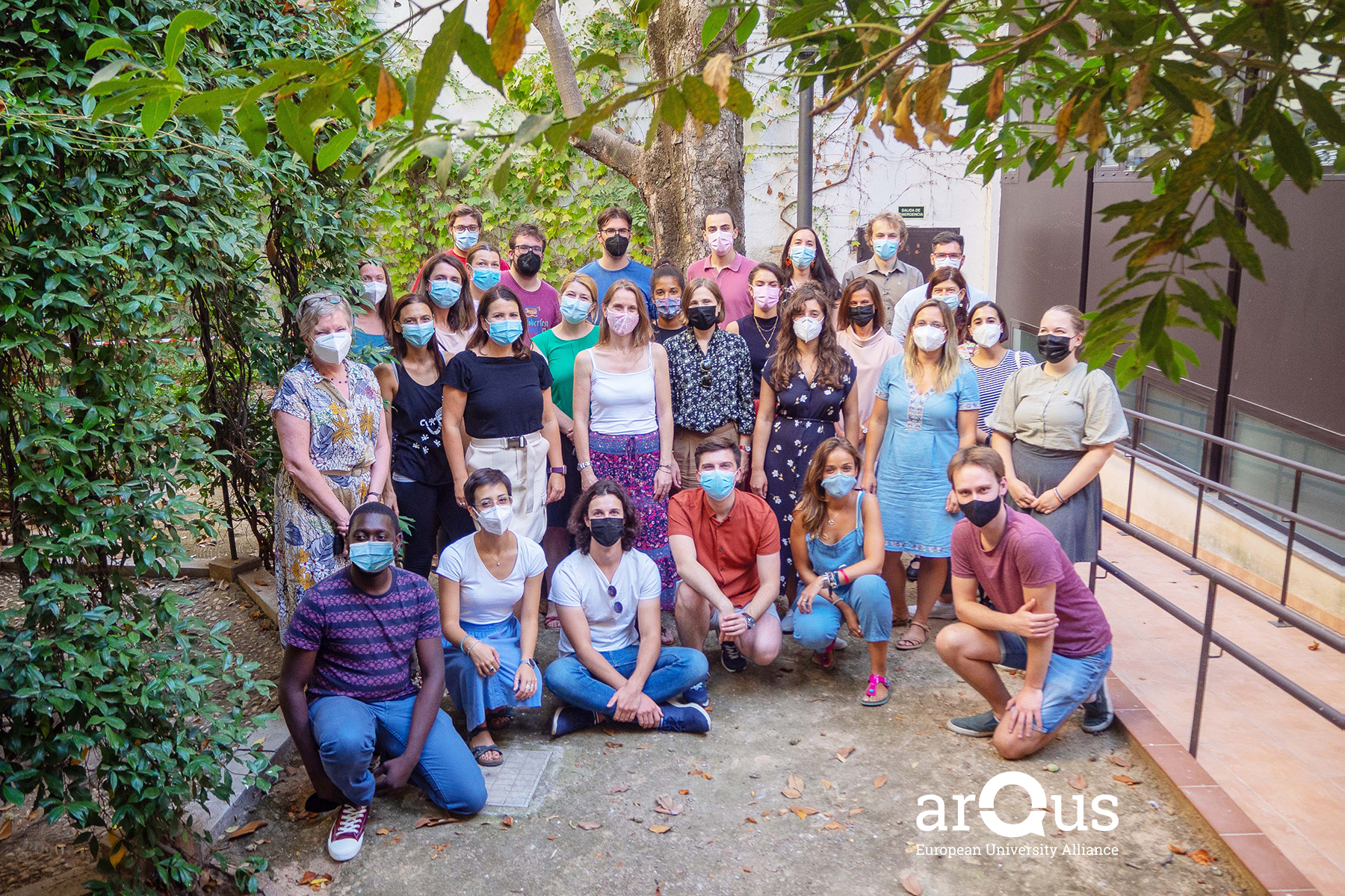 Termina la semana de reuniones presenciales de Arqus en la Universidad de Granada