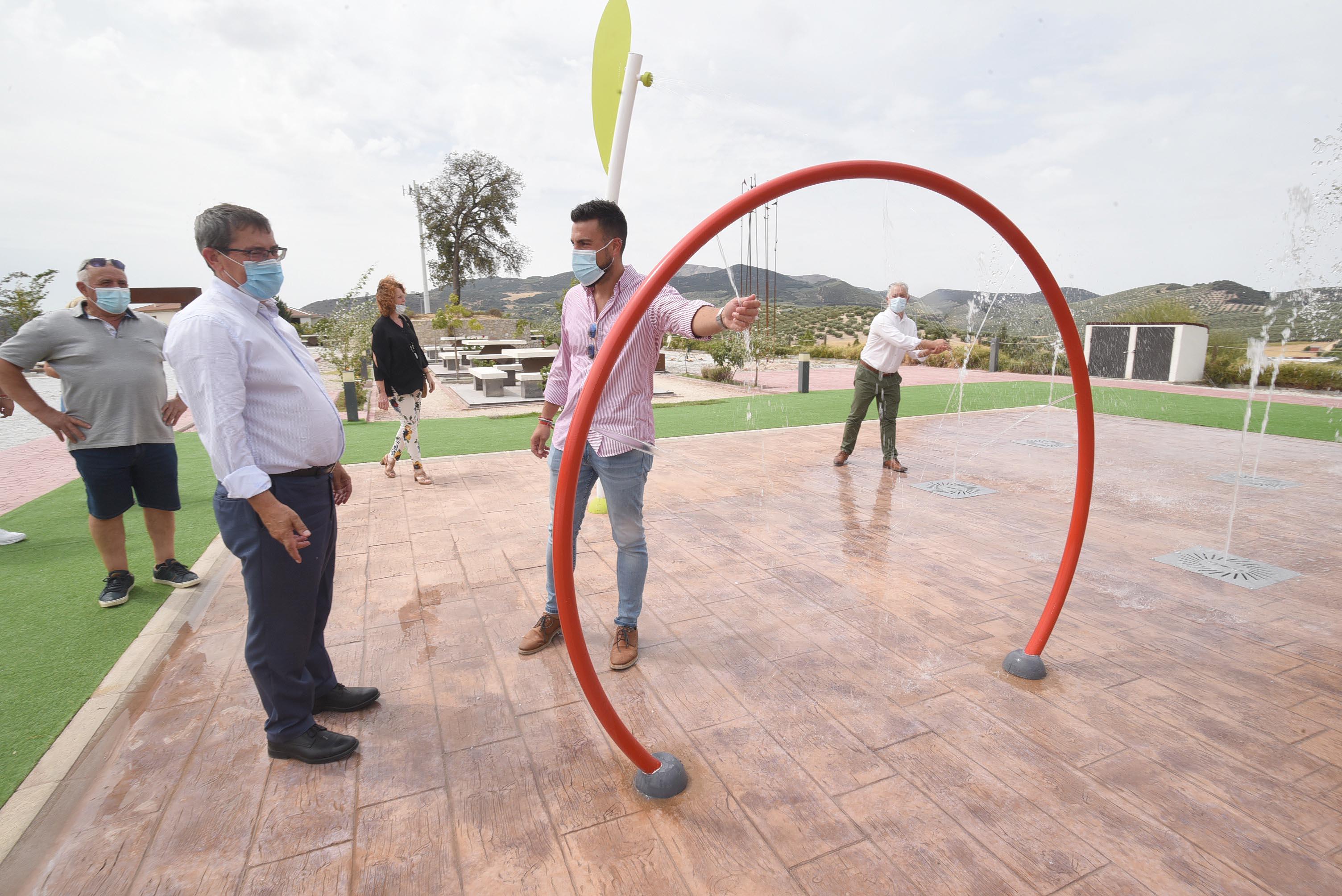 Diputación interviene en la mejora de carreteras, equipamientos y espacios públicos de Moclín