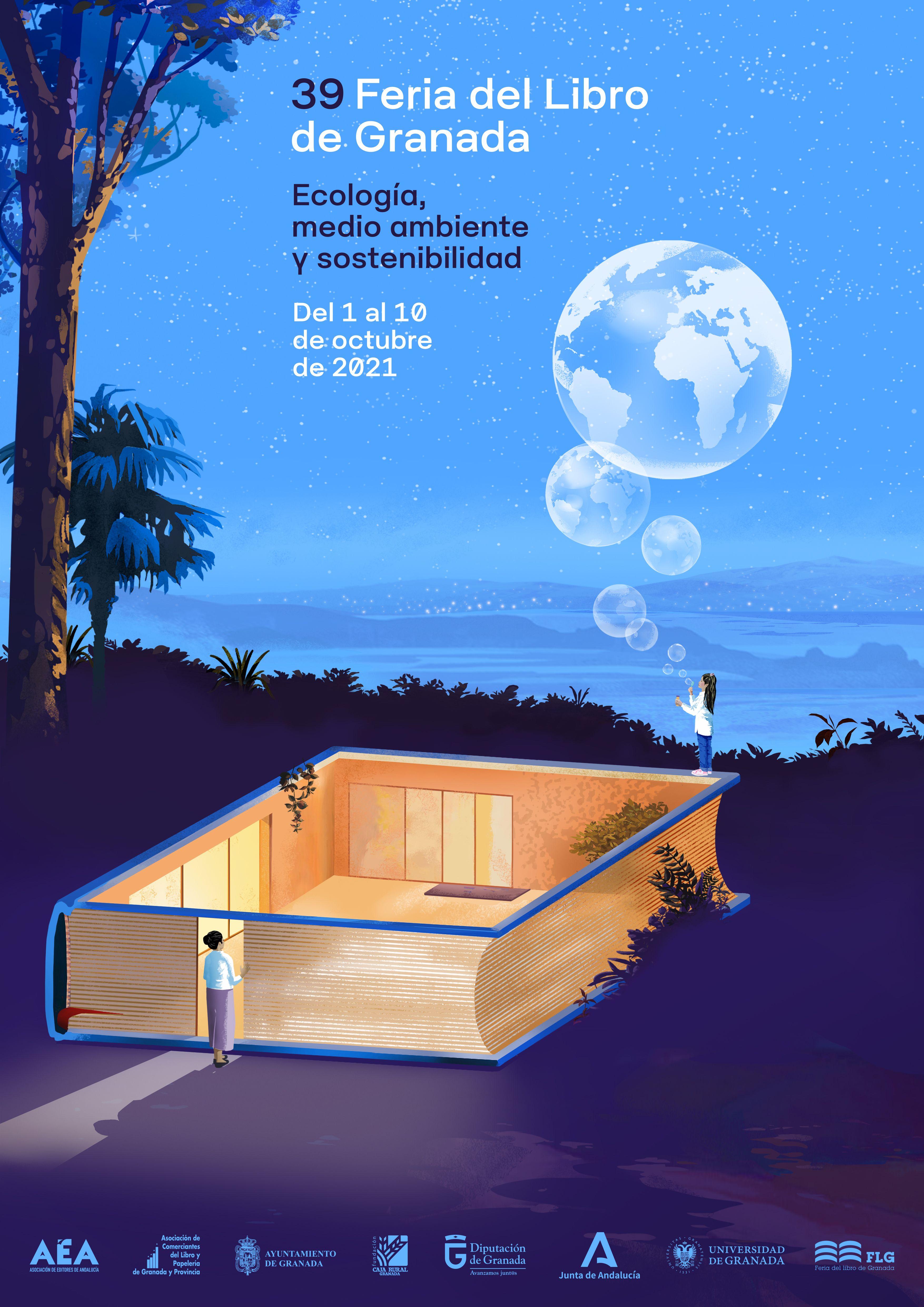 La 39ª edición de la Feria del Libro de Granada presenta cartel y su nueva web que por primera vez incluye emisiones en streaming