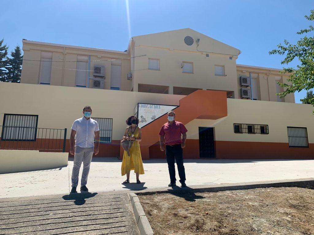 Monachil invierte 20.000 euros en obras de mejora en sus colegios de cara al nuevo curso escolar