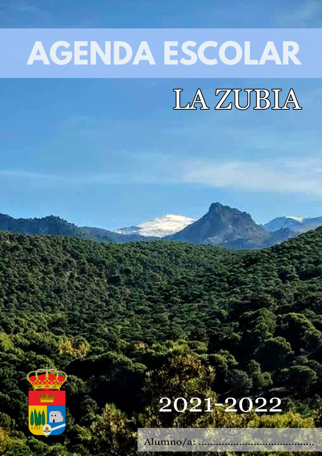 El Ayuntamiento de La Zubia reparte más de 2600 agendas entre todos los escolares del municipio