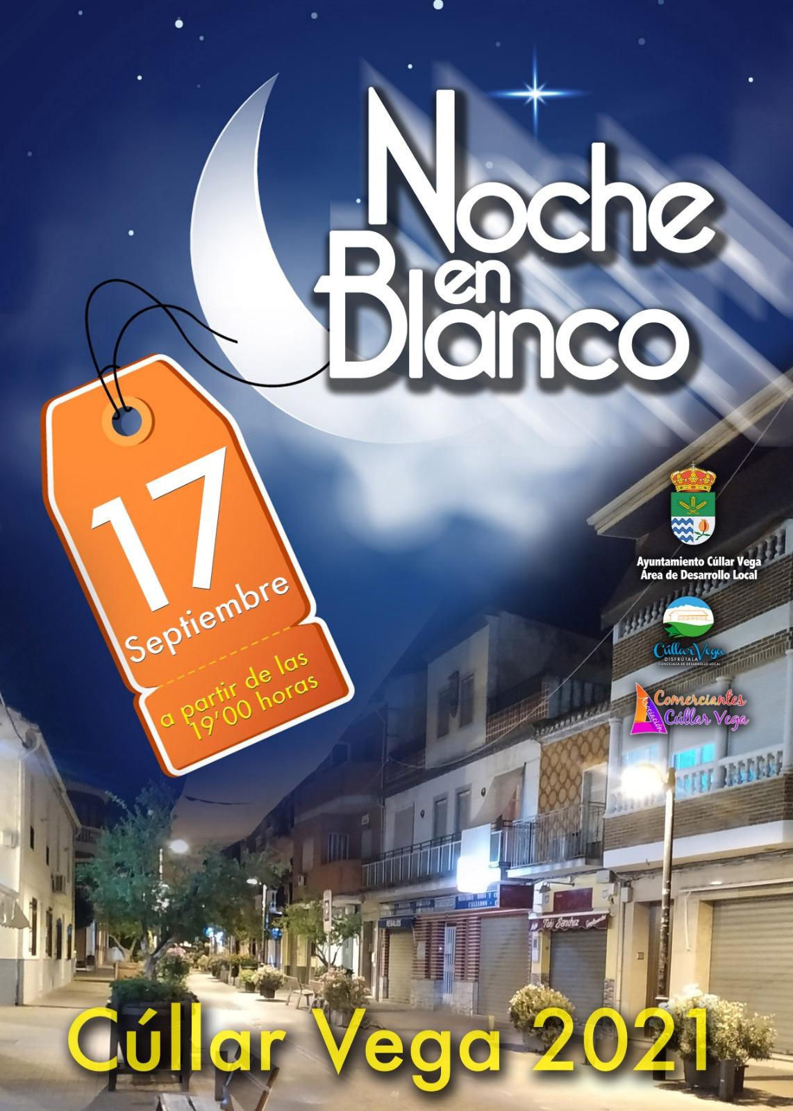 Cúllar Vega retoma su Noche en Blanco para promocionar el comercio local