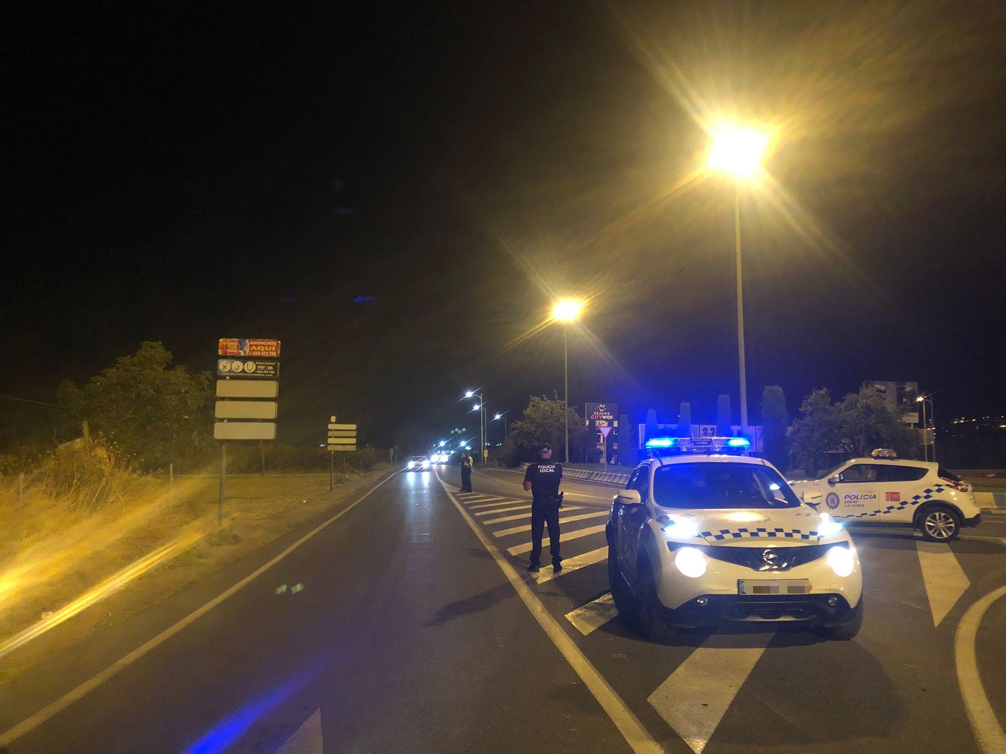 La Policía Local de La Zubia interpone 37 denuncias por botellones y a conductores de motocicletas