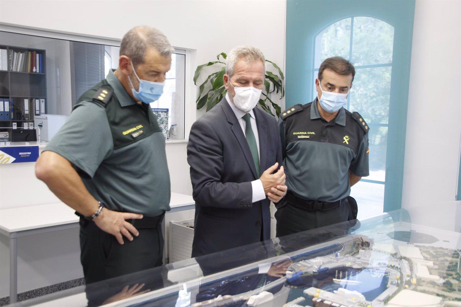 El proyecto del nuevo cuartel de la Guardia Civil en Motril contempla un presupuesto de 1,5 millones