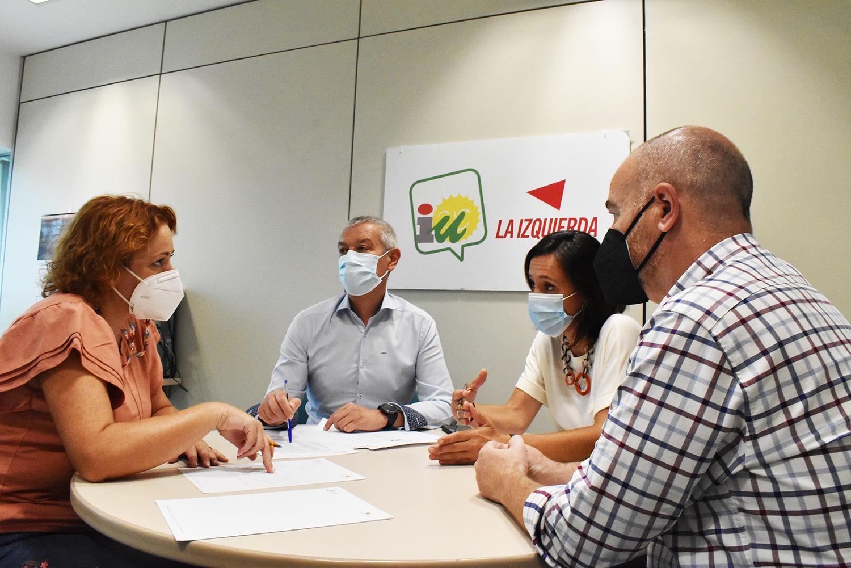 IU elevará las peticiones de los trabajadores temporales de Diputación al Congreso de los Diputados