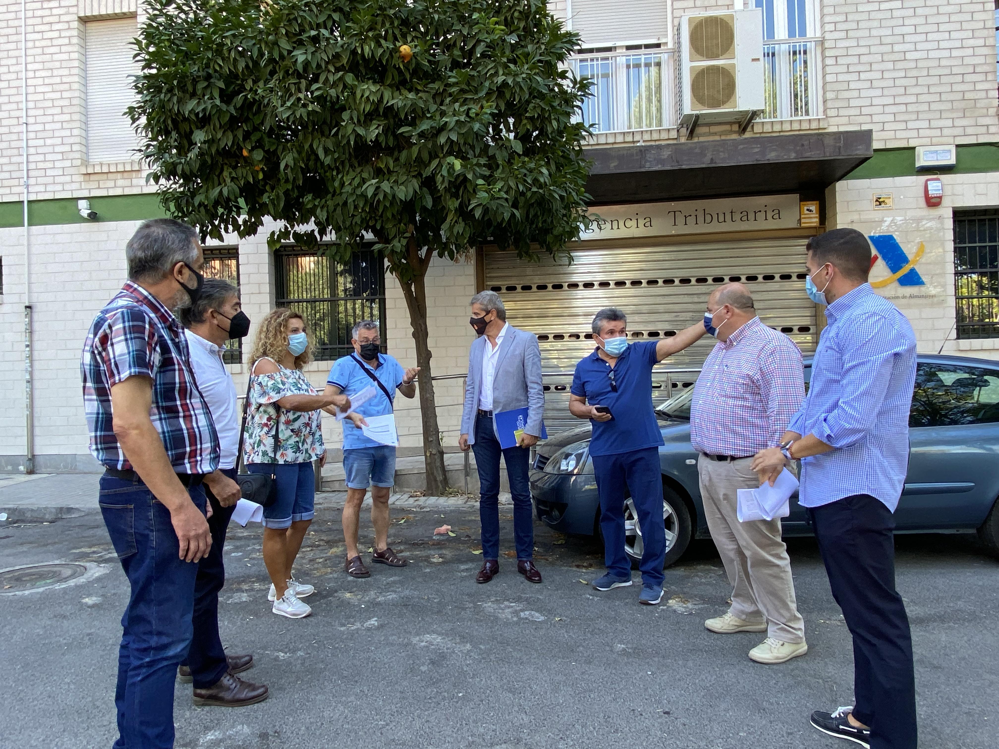 """El PP exige al Gobierno que no eche el cierre a un servicio """"esencial"""" como la delegación de la Agencia Tributaria de Almanjáyar"""