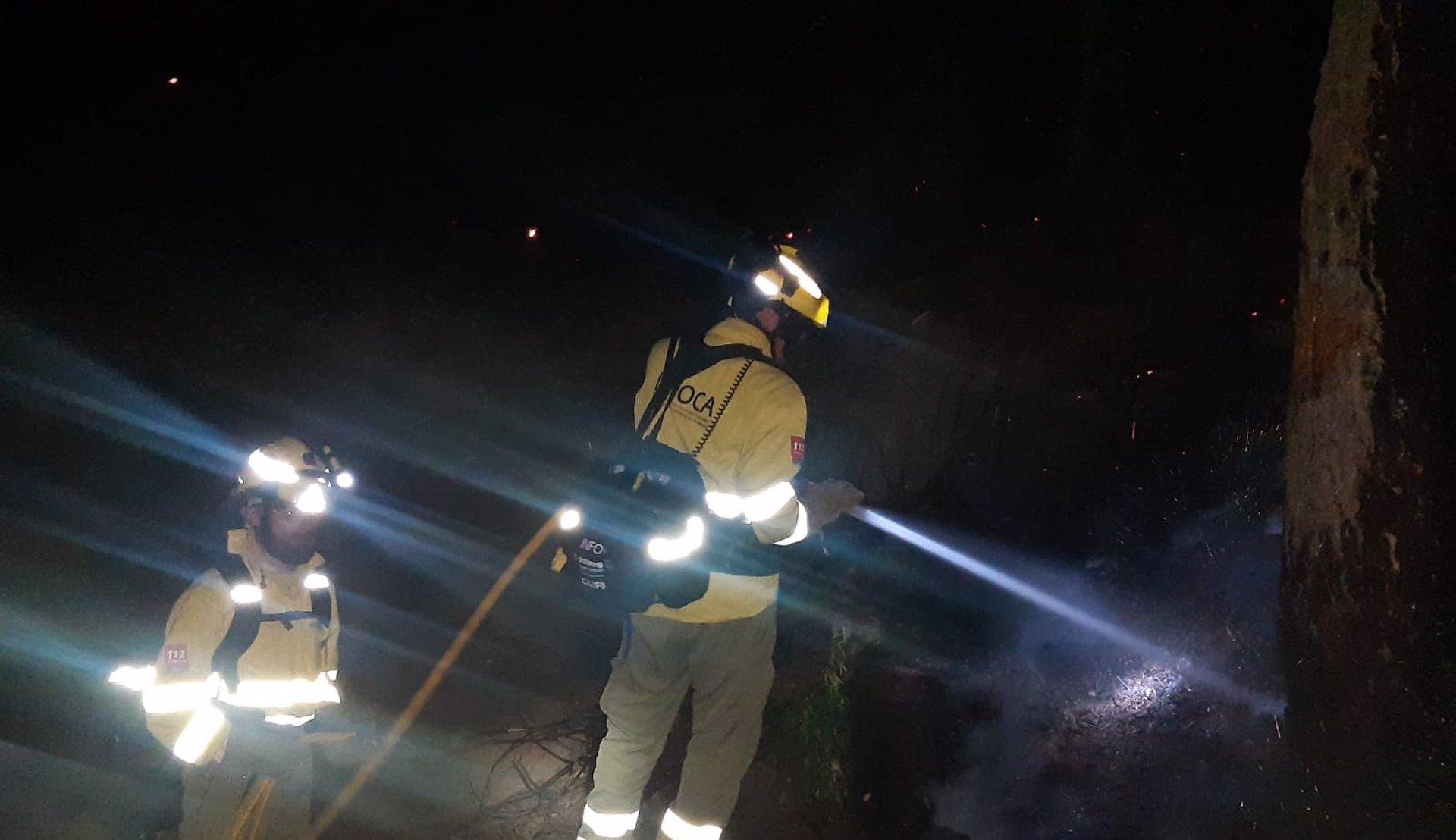Controlado el incendio forestal en Sierra Bermeja