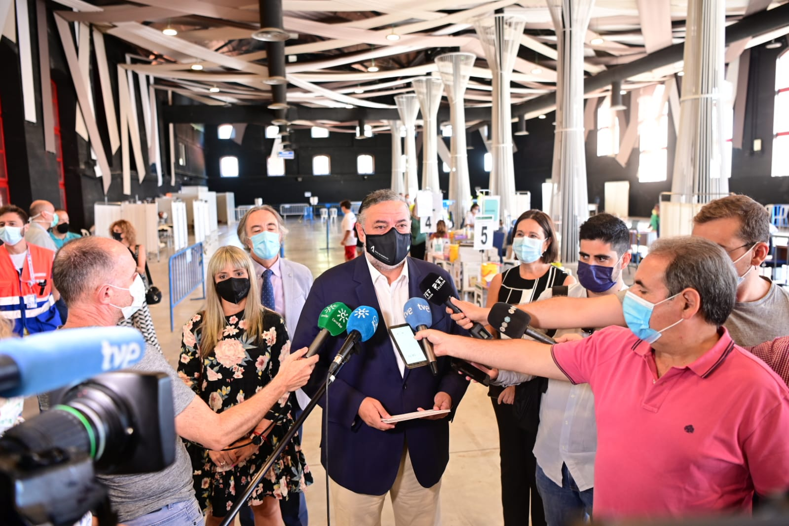 La Junta concluye la actividad de vacunación en Fermasa tras 400.000 vacunas suministradas
