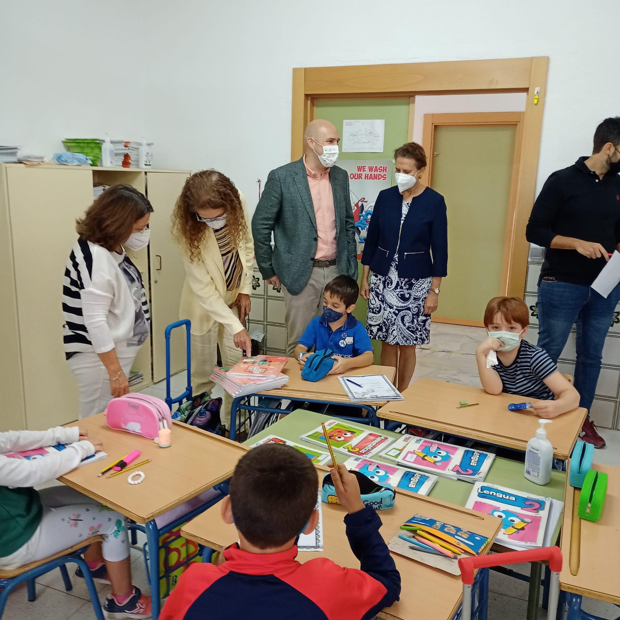 Educación invierte más de 240.000 euros en la mejora del Colegio Luis Rosales