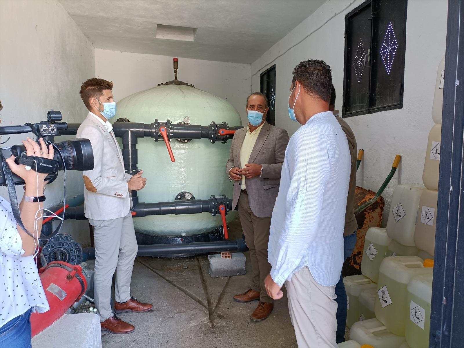 El Ayuntamiento de Lanjarón reparará la depuradora del Zenete dañada por las lluvias con fondos de la Junta