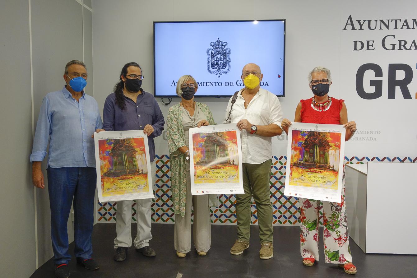 Granada celebra del 4 al 12 de septiembre la XX edición de la Academia Internacional de Órgano