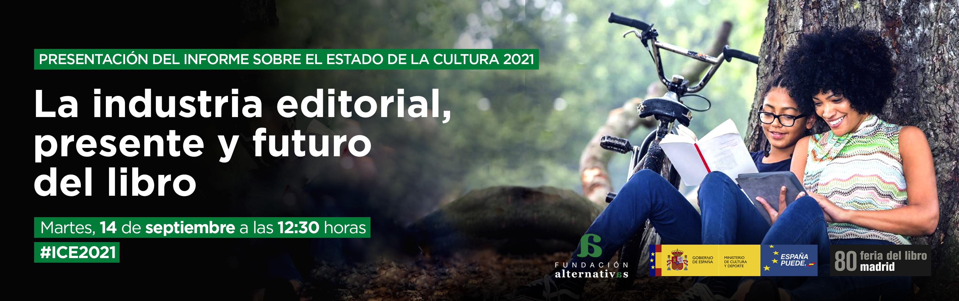 Ana Gallego Cuiñas, catedrática de Literatura Latinoamericana de la UGR, presenta el Informe sobre el Estado de la Cultura en España en la Feria del Libro de Madrid
