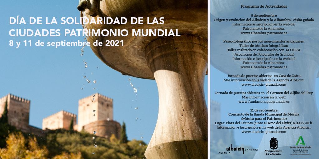 Mañana se celebra Día de la Solidaridad de las Ciudades Patrimonio Mundial,