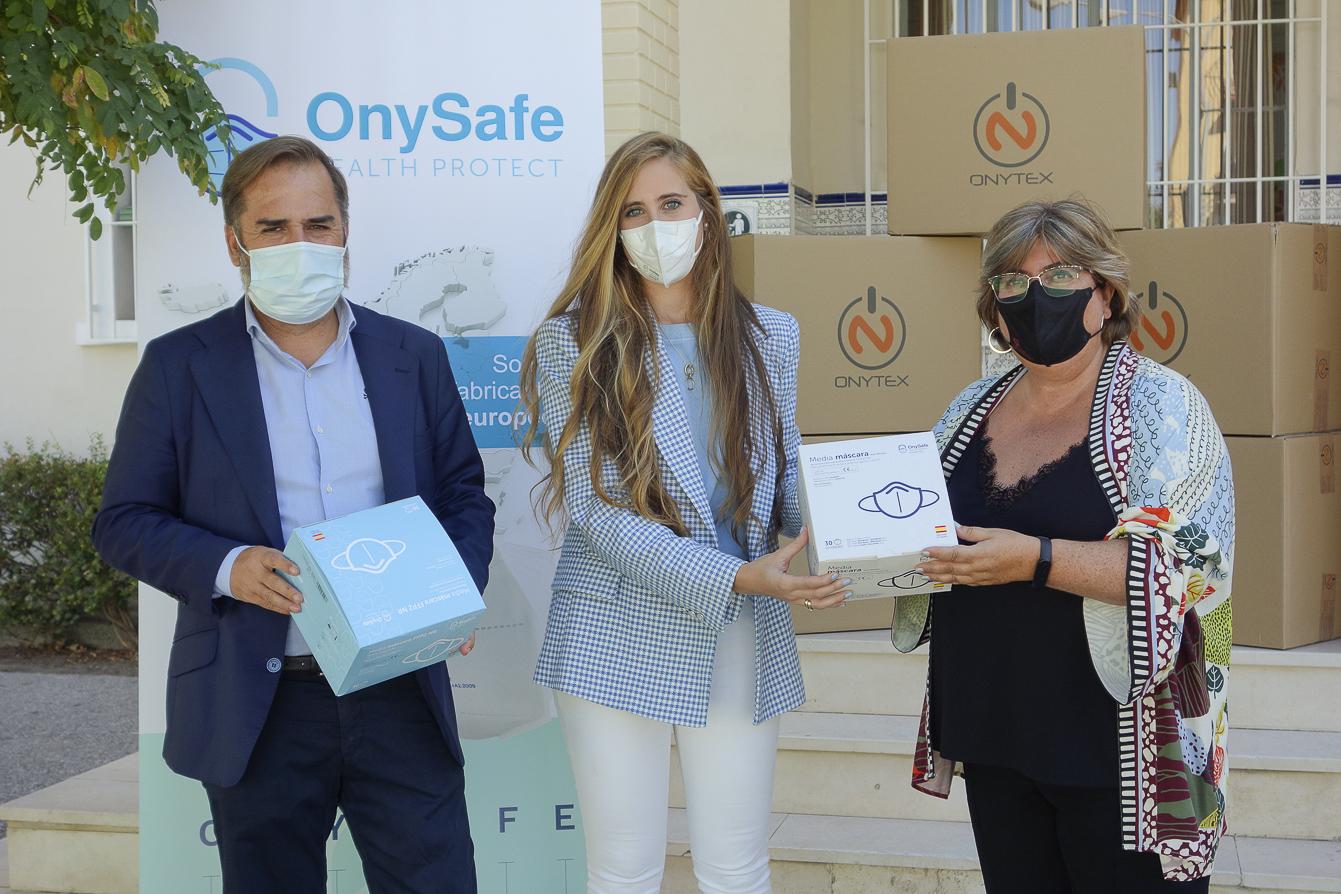 El Ayuntamiento reparte 100.000 mascarillas entre los centros educativos de la ciudad