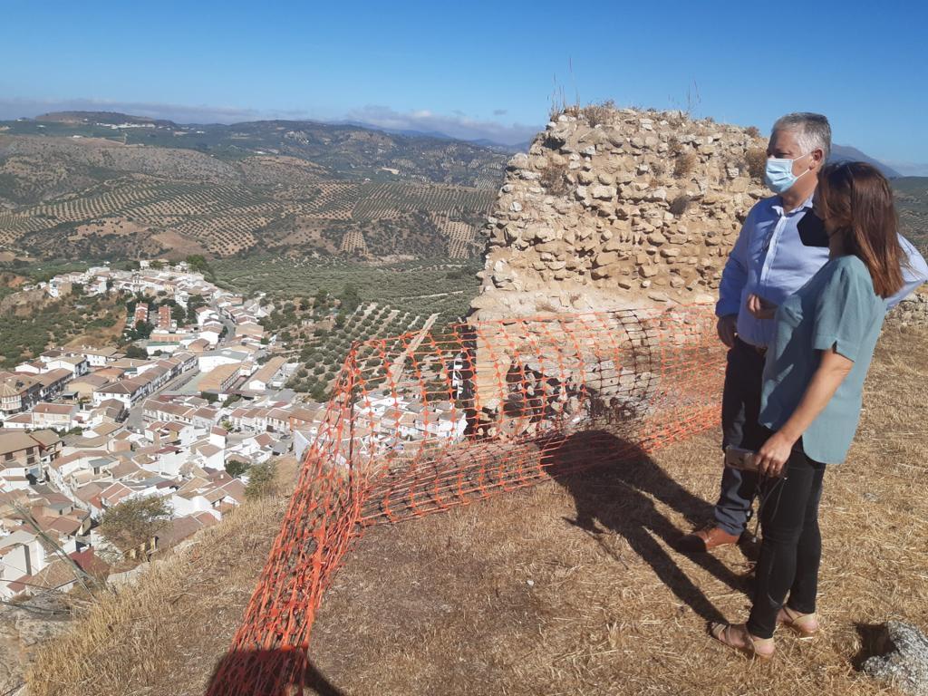 Diputación intervendrá en la conservación y mejora de accesos del Castillo de Zagra