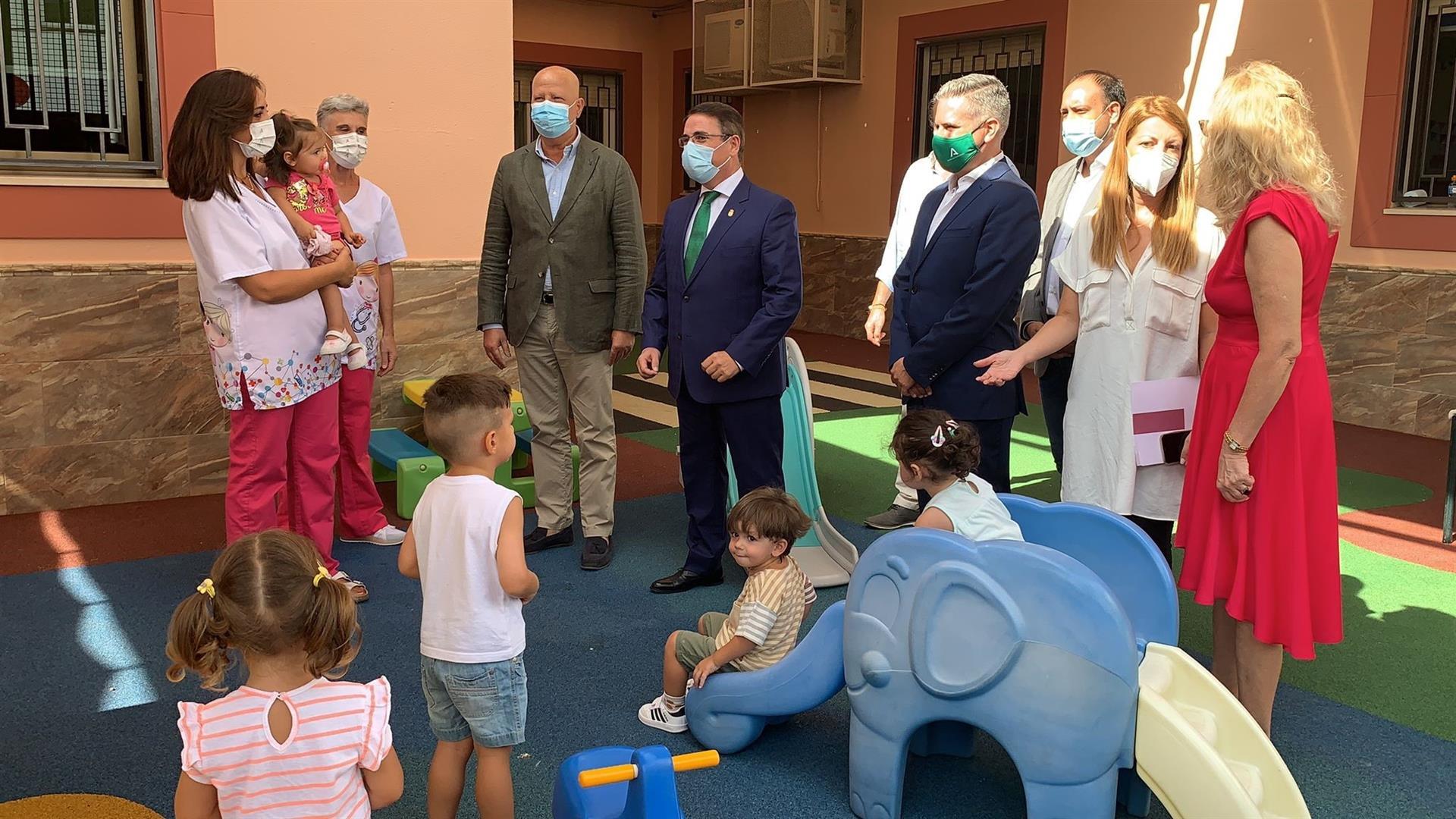 Casi 83.800 menores de tres años han iniciado las clases de Infantil en Andalucía, 4.441 más que el curso pasado