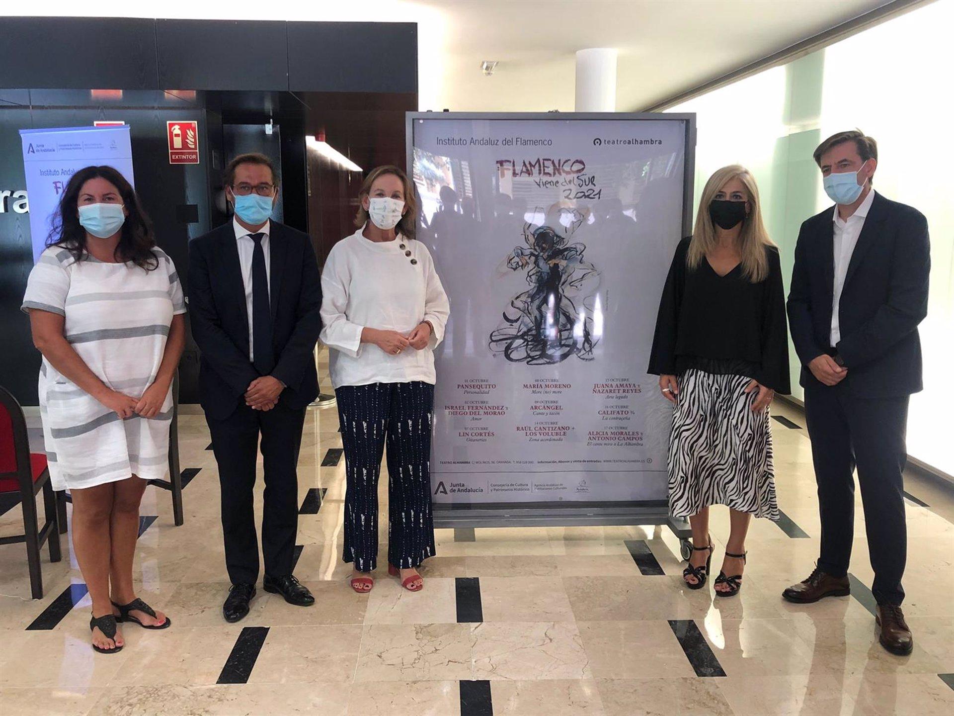 La Junta intensifica la oferta flamenca del Teatro Alhambra con nueve espectáculos en octubre
