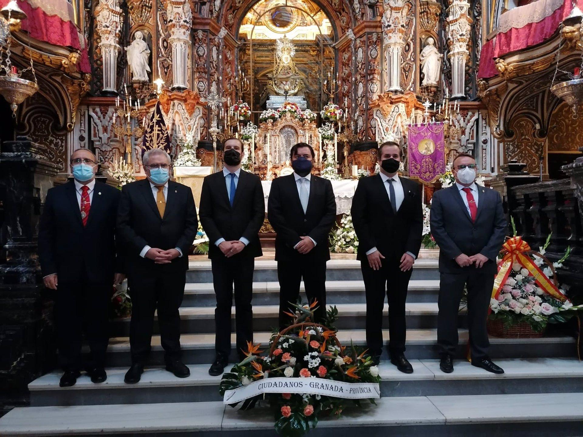 Cs señala que el PSOE pretende «confrontar y confundir» ante la festividad de la Patrona