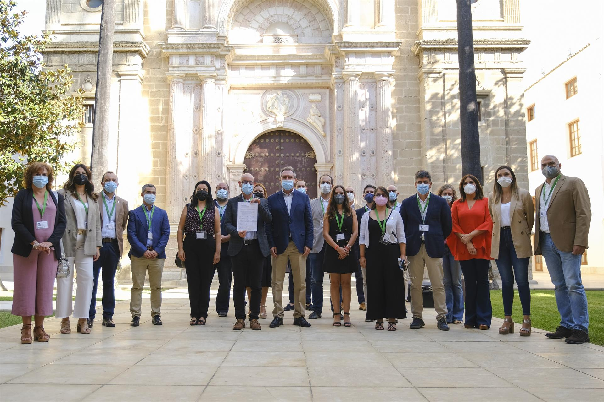 Espadas expresa su respaldo a una ILP apoyada por once ayuntamientos para impulsar una Ley andaluza de Cultura