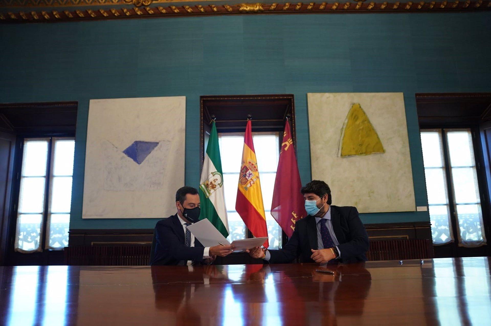 Andalucía y Murcia demandan al Gobierno central la reforma de la financiación y un fondo transitorio