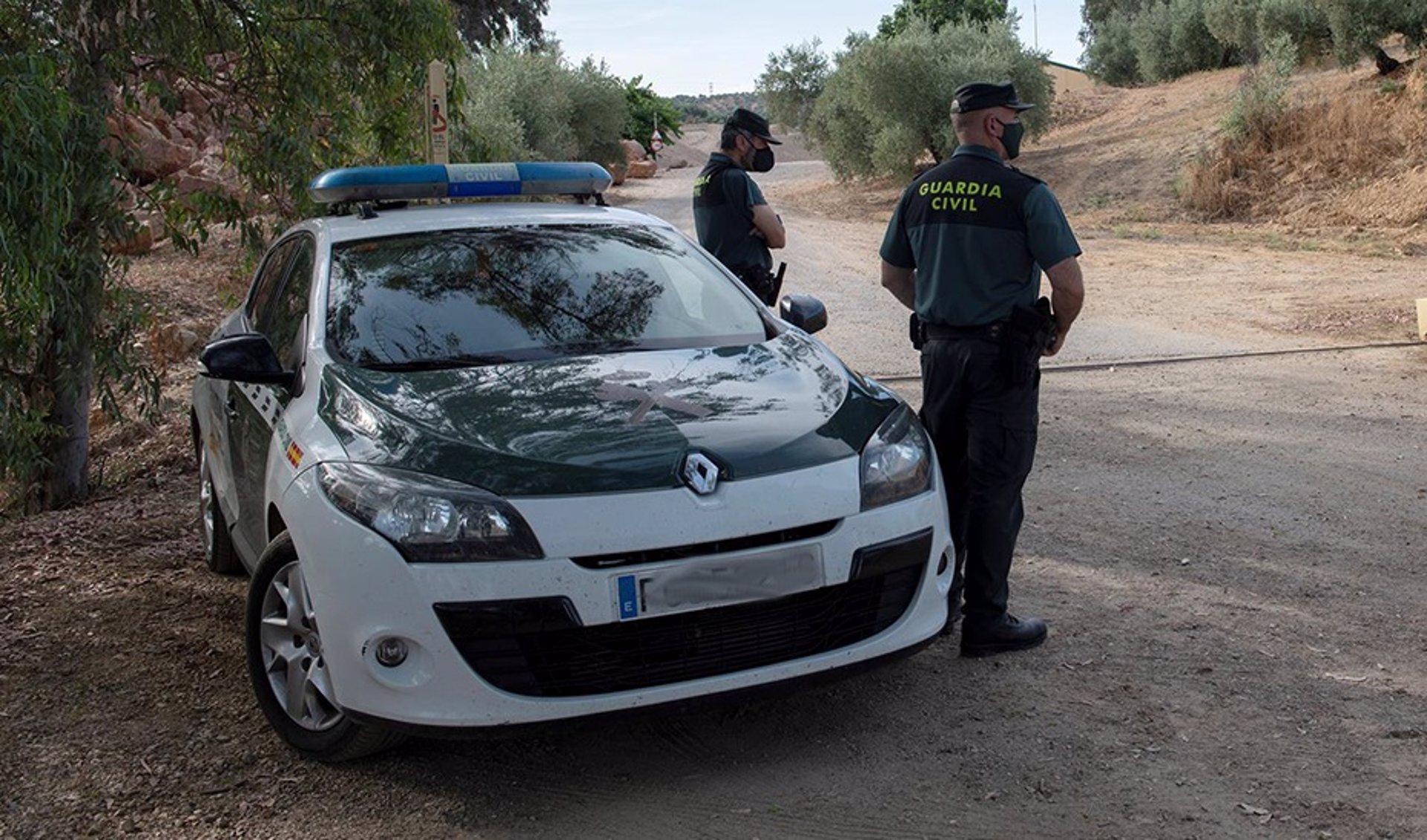Detenido un hombre con una furgoneta robada cargada de marihuana