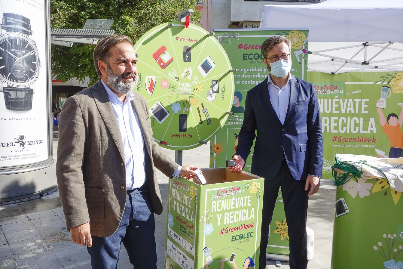 La campaña #Greenweek21 concienciará sobre la recogida de residuos eléctricos y electrónicos