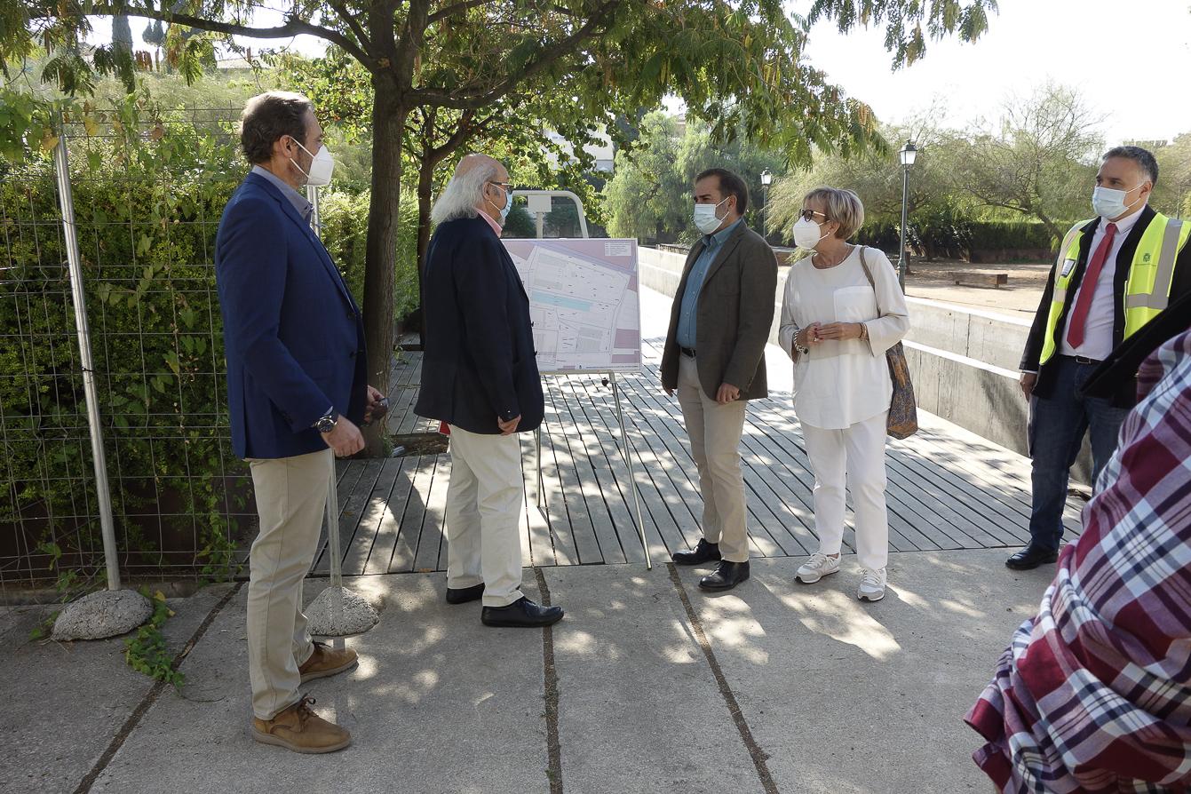 El Parque Zen reabrirá a primeros de año tras su arreglo