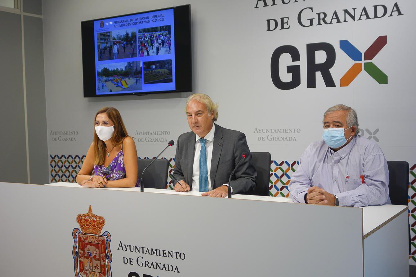 El Ayuntamiento promueve la práctica deportiva entre la población en situación de vulnerabilidad