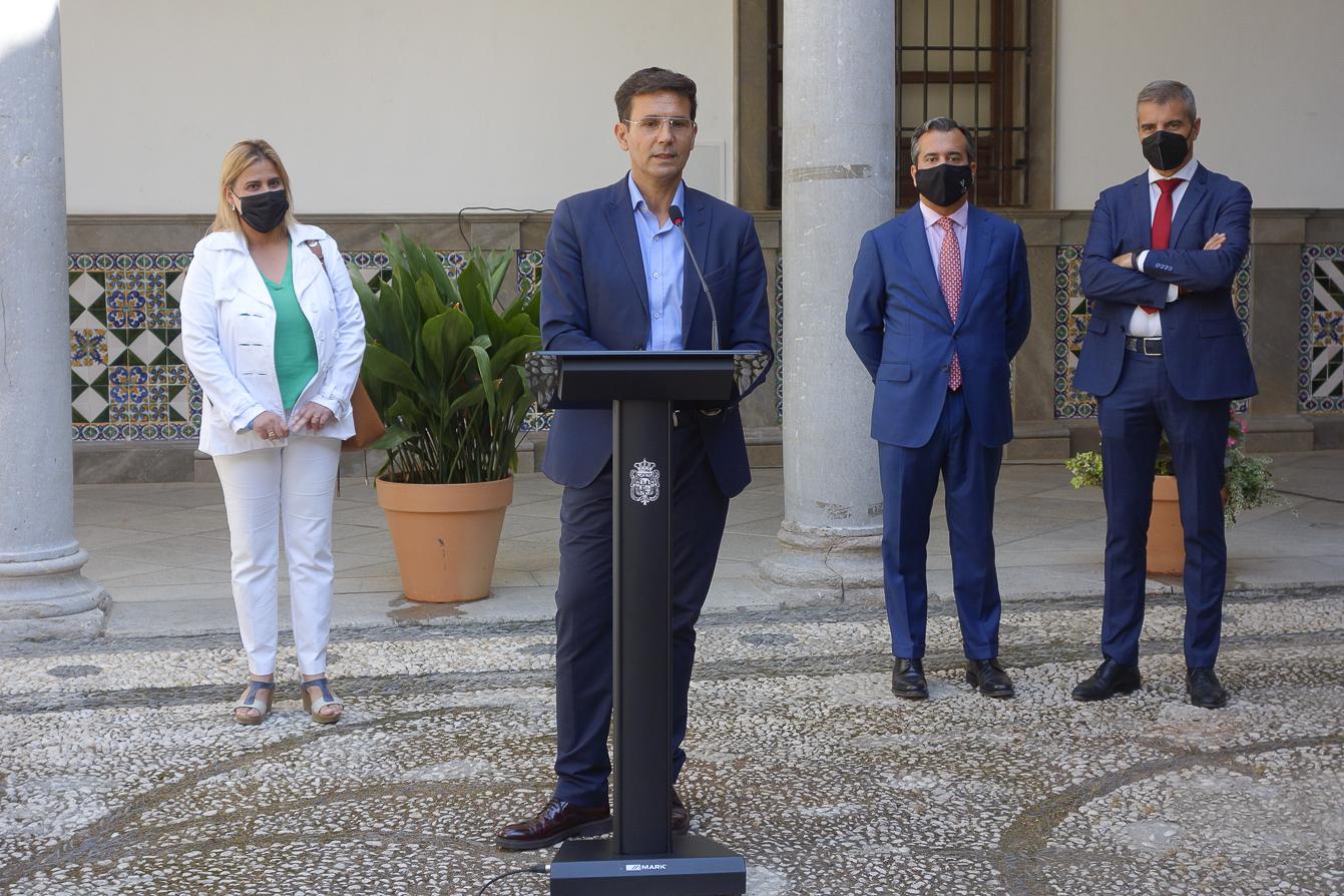 El Ayuntamiento pretende convertir La Chana en una galería de arte al aire libre