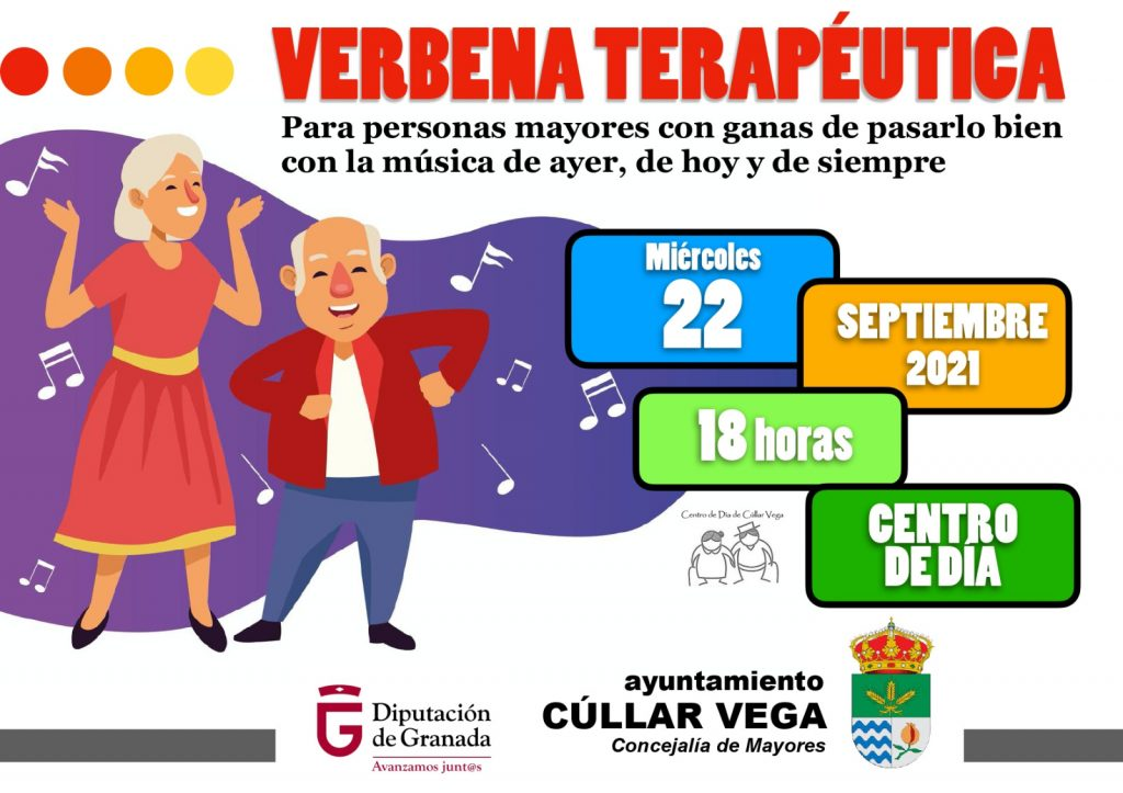 Cúllar Vega organiza una 'verbena terapéutica' para ayudar a sus mayores a relacionarse durante la pandemia