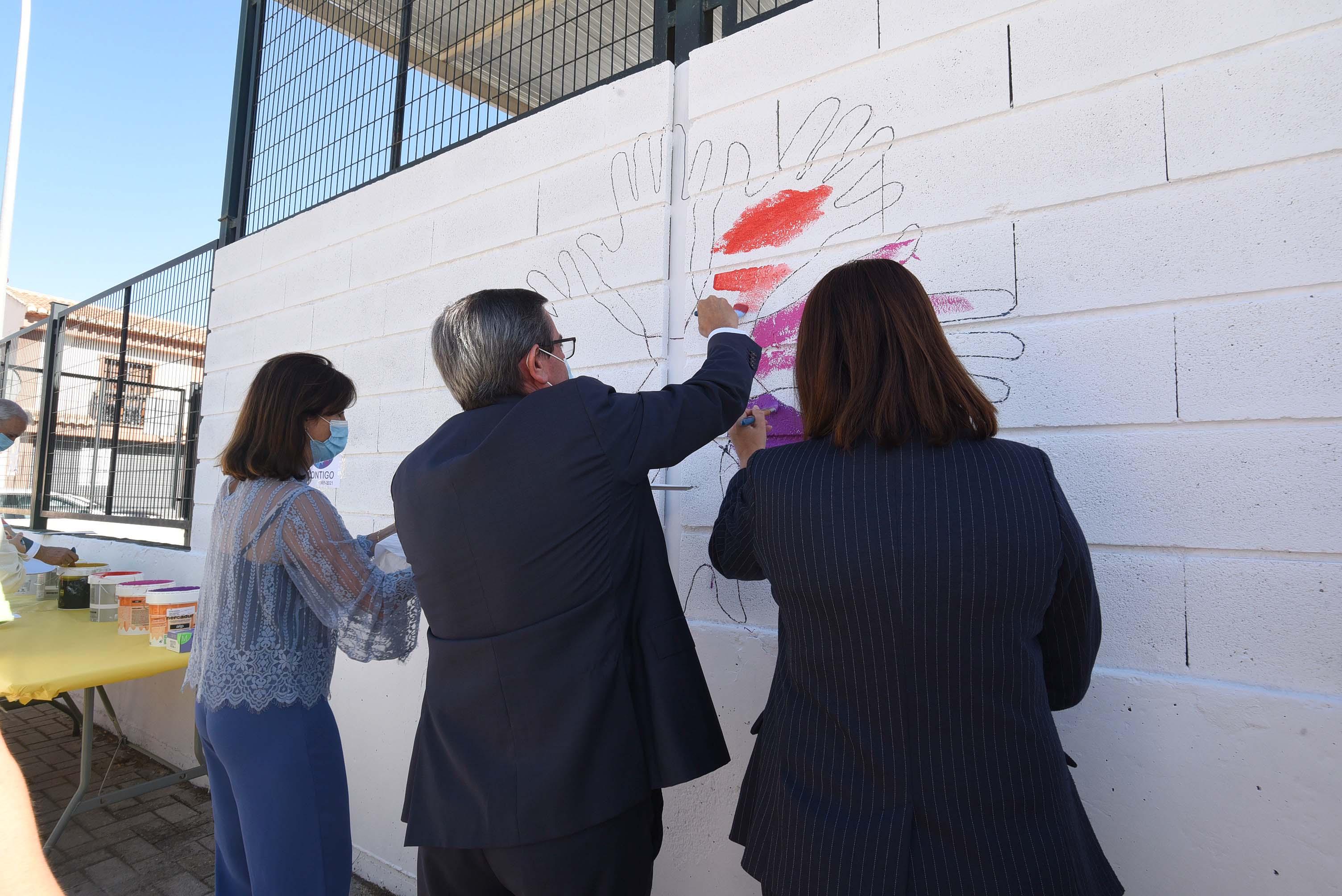Diputación celebra con ASPACE el Día Mundial de la Parálisis Cerebral