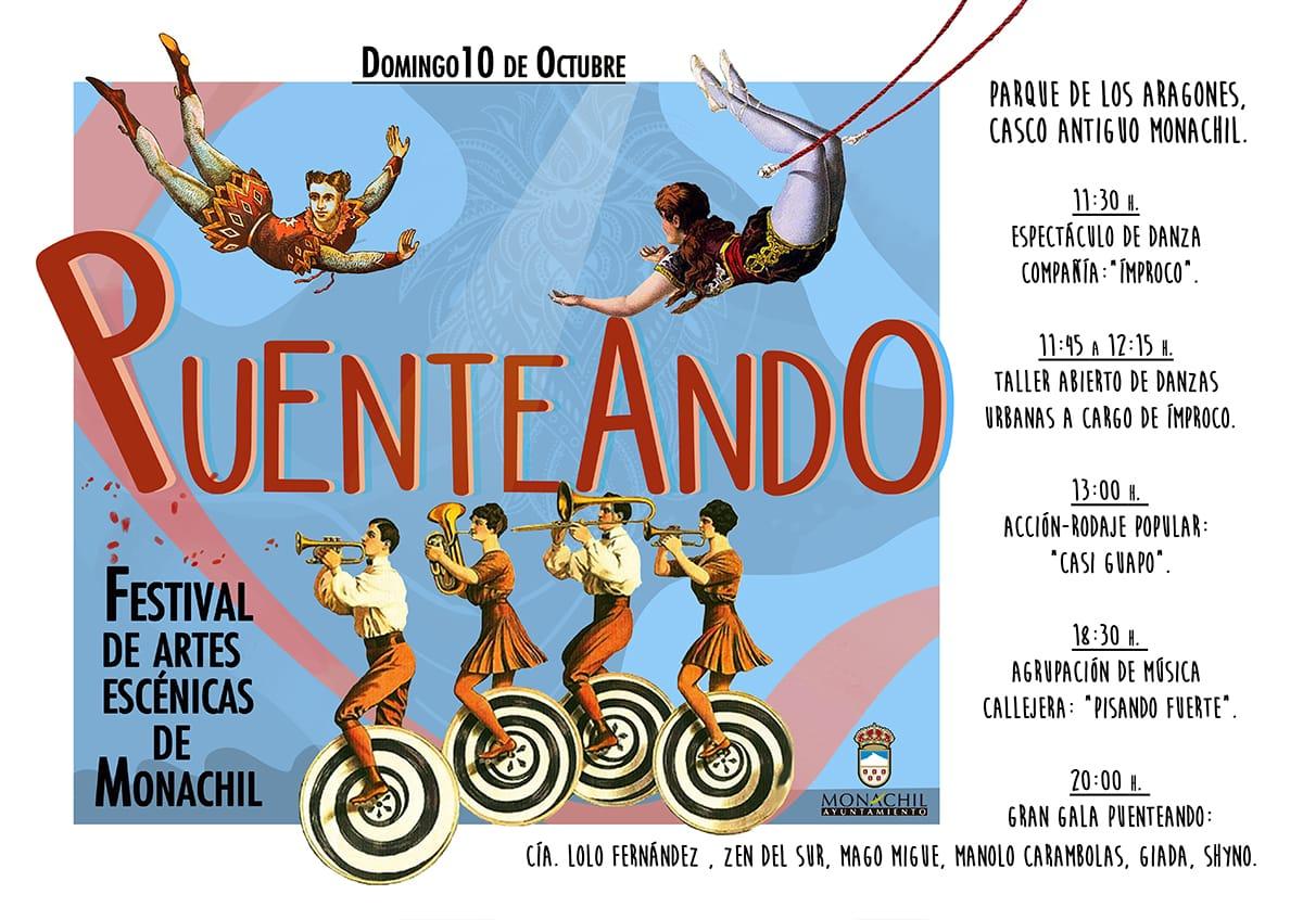 El I Festival de Artes Escénicas 'Puenteando' de Monachil unirá magia, teatro, acrobacias, música y danza