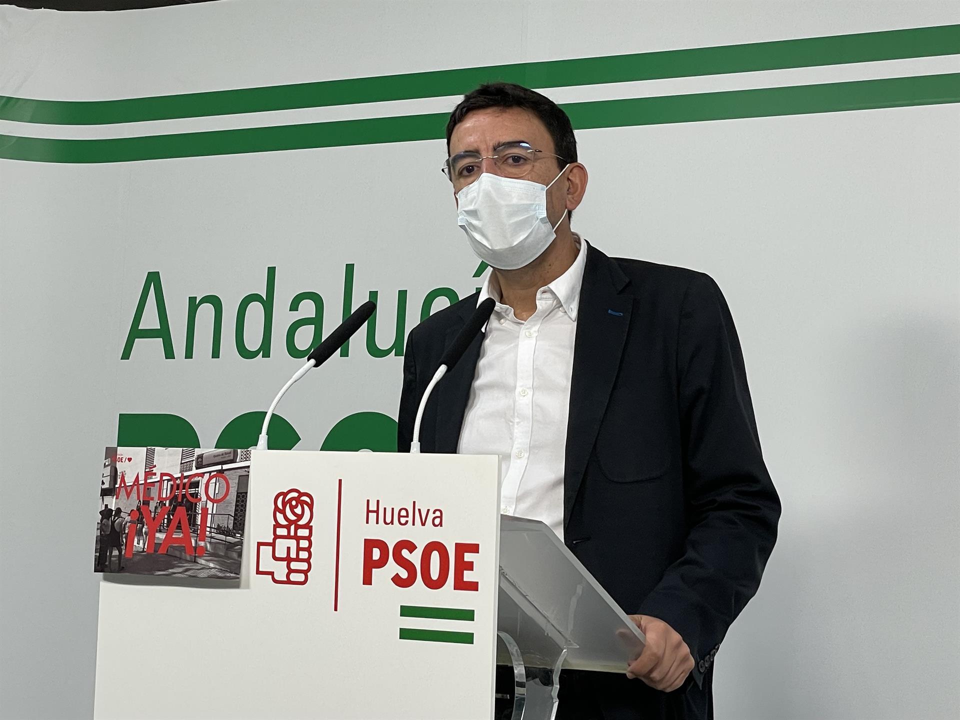 PSOE llevará al Parlamento una iniciativa para que la Junta impulse un plan para erradicar asentamientos de inmigrantes