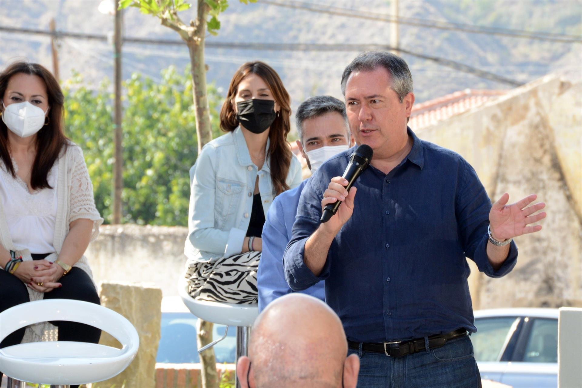 Espadas propone que el presupuesto «aumente el fondo de financiación local», especialmente para municipios rurales