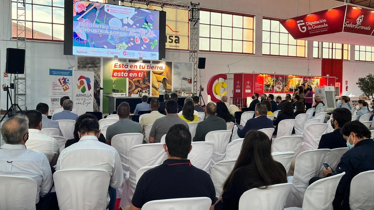 Cámara Granada y Sabor Granada celebran un encuentro empresarial en la Feria General de Muestras