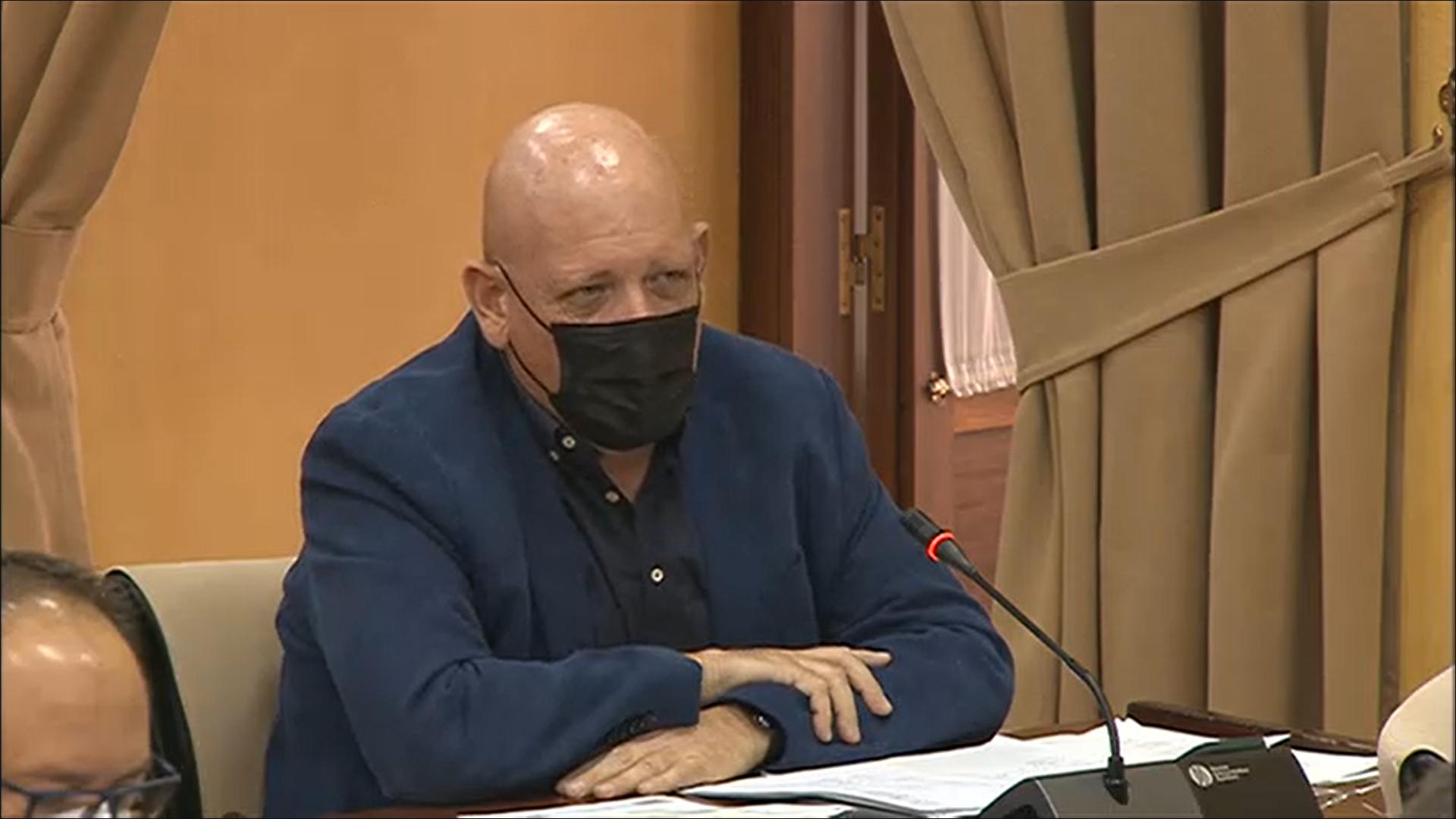 """Gerardo Sánchez reclama a la Junta que las obras de la carretera A-4154 """"acaben ya"""" y exige explicaciones por el retraso"""