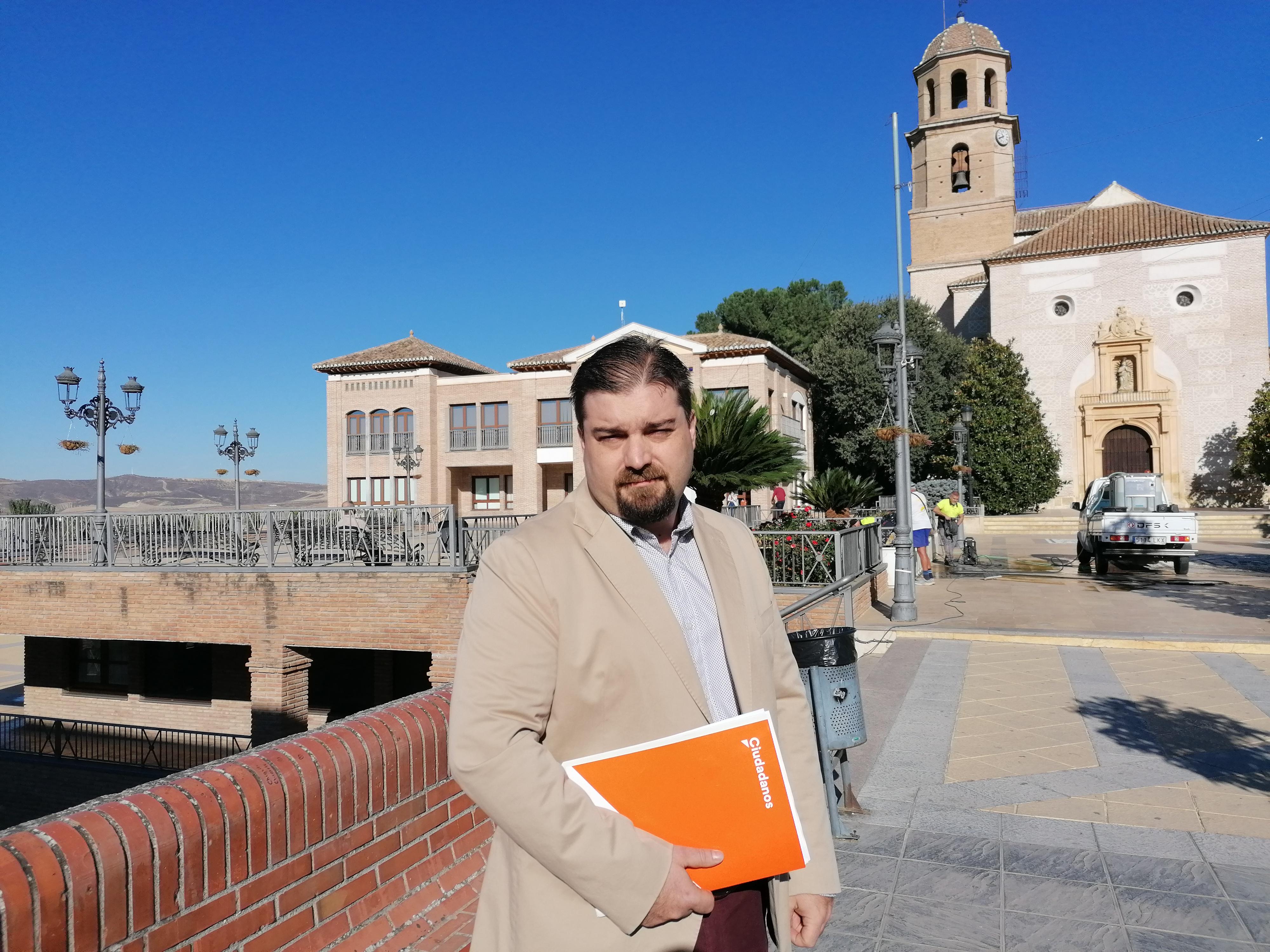 Ciudadanos asume las competencias de Mantenimiento, Servicios Sociales, Familias y Consumo en Alhendín