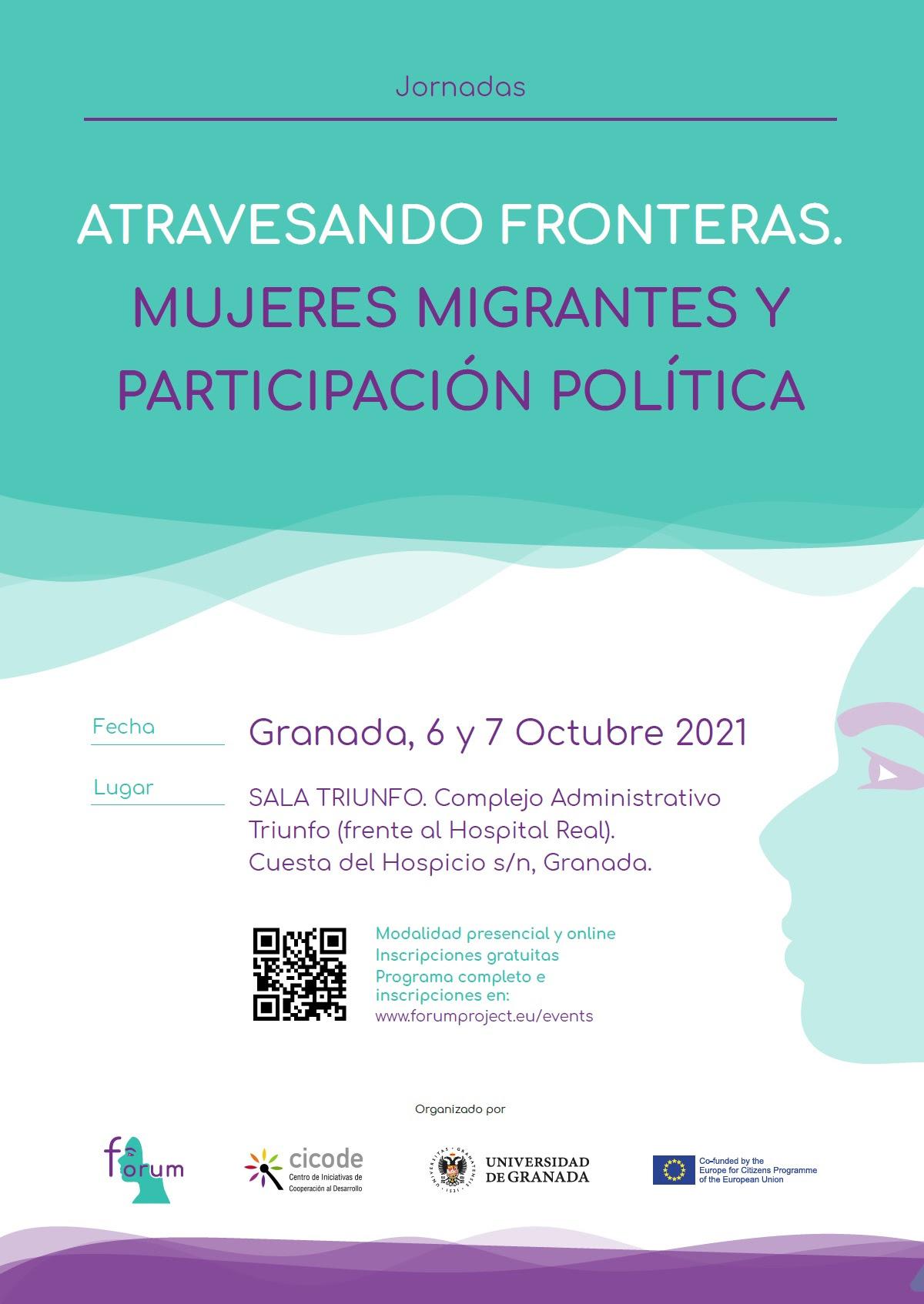 """La UGR celebra las jornadas """"Atravesando fronteras: mujeres migrantes y participación política"""""""