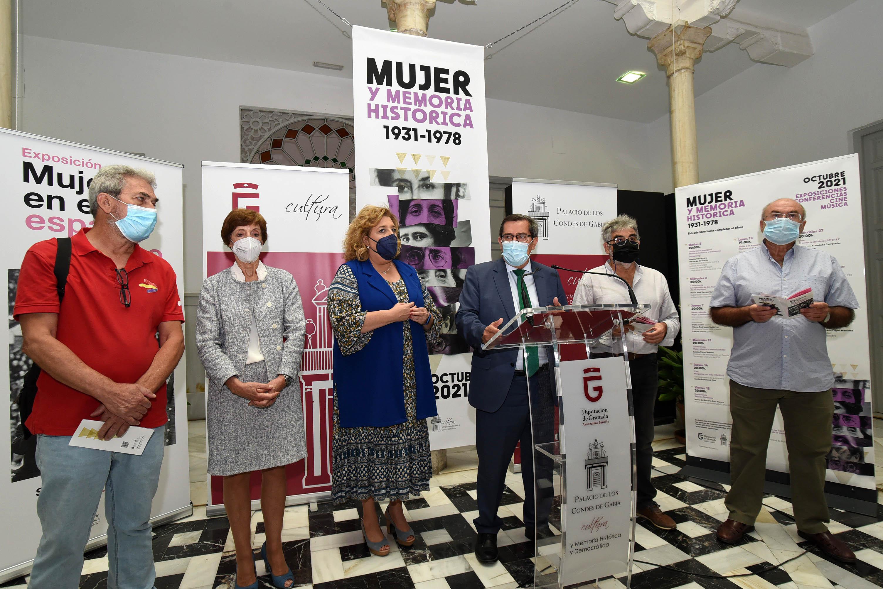 Diputación dedica las Jornadas de Memoria Histórica a la mujer en el 90 aniversario del derecho al voto femenino