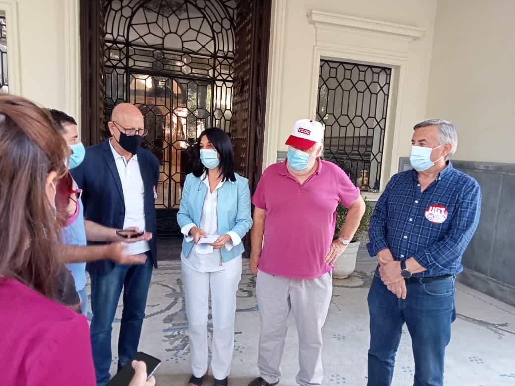 UGT y CCOO piden en Granada al Gobierno que se inicie un debate para una futura ley integral de derechos de las personas mayores