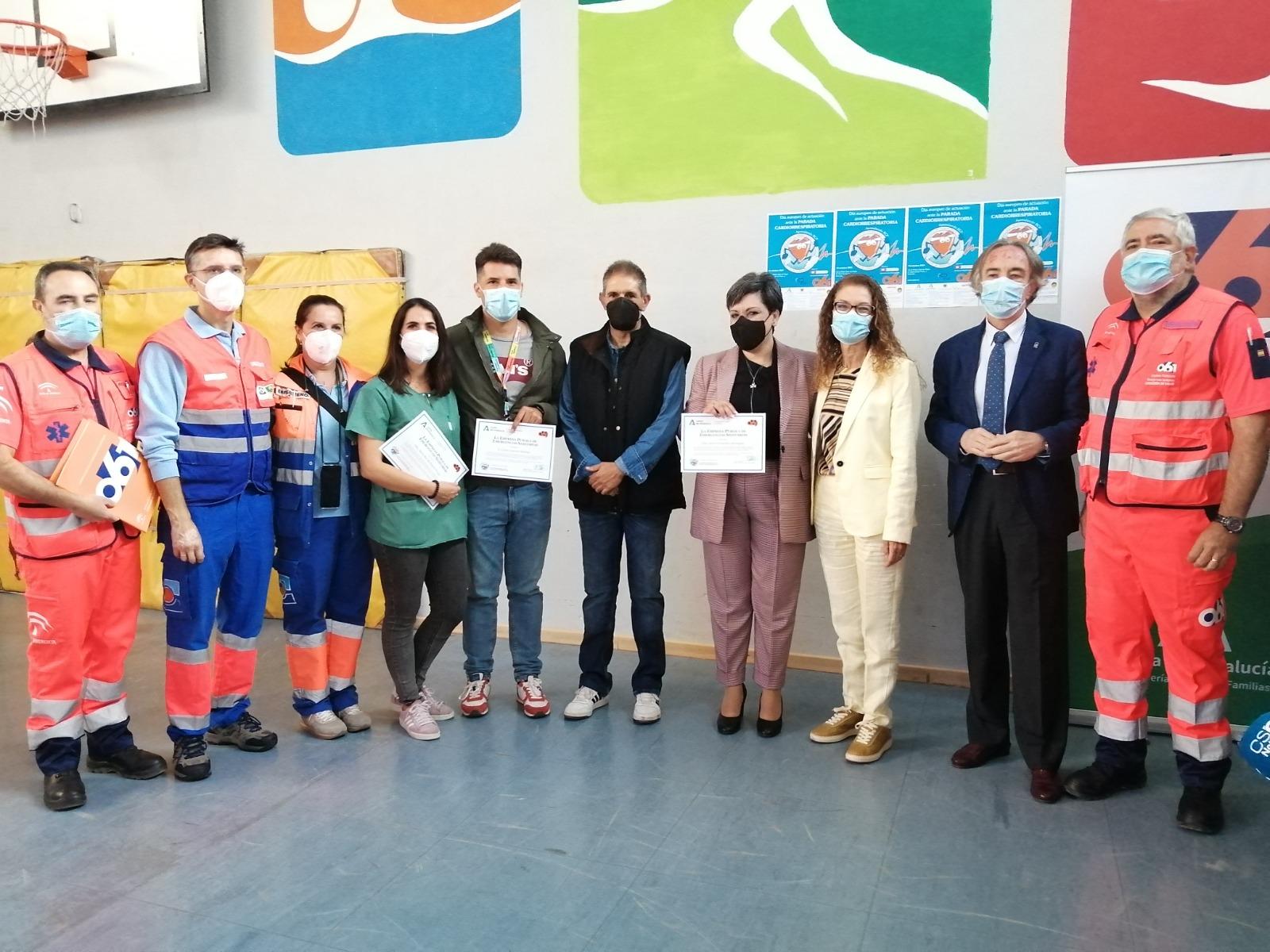 Más de 400 jóvenes granadinos recibirán formación en reanimación con motivo del Día Europeo ante la Parada Cardíaca