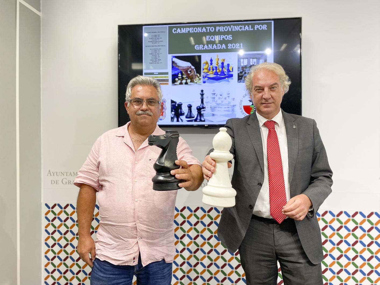 Las instalaciones deportivas municipales albergan el Campeonato Provincial por Equipos de Ajedrez