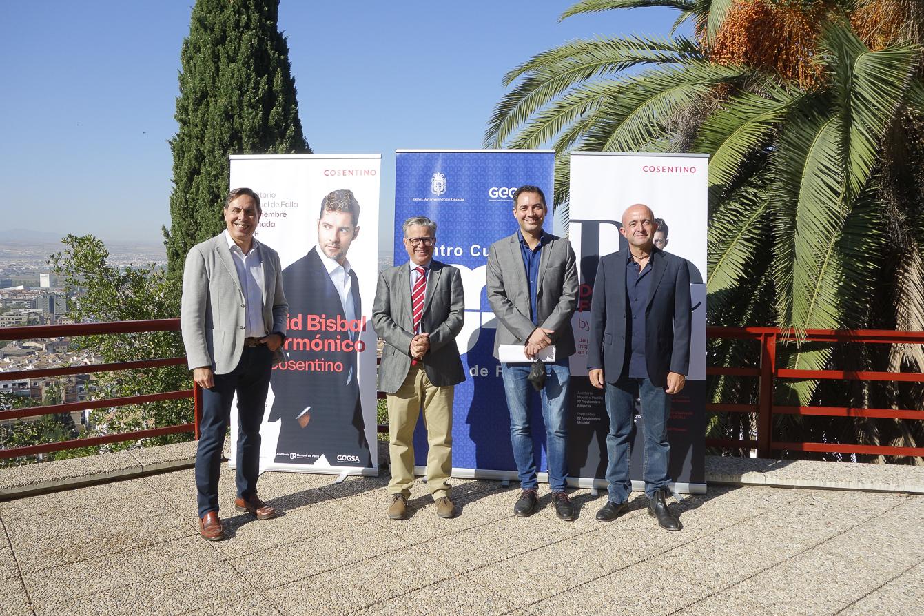 El auditorio Manuel de Falla acogerá el concierto «Bisbal filarmónico»